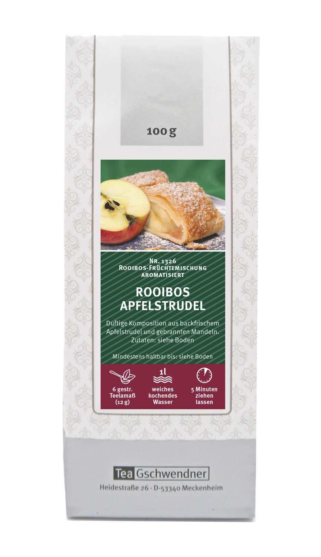 Rooibos Apfelstrudel