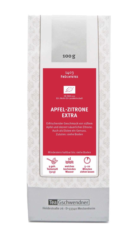 Apfel-Zitrone extra Bio