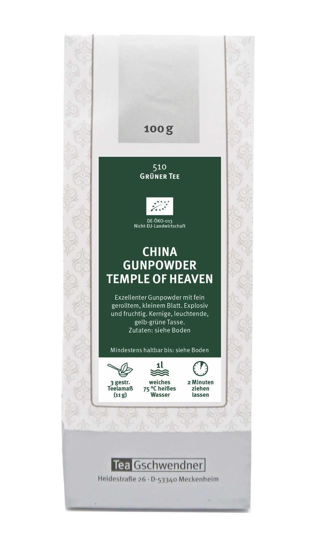 China Gunpowder Temple of Heaven Bio