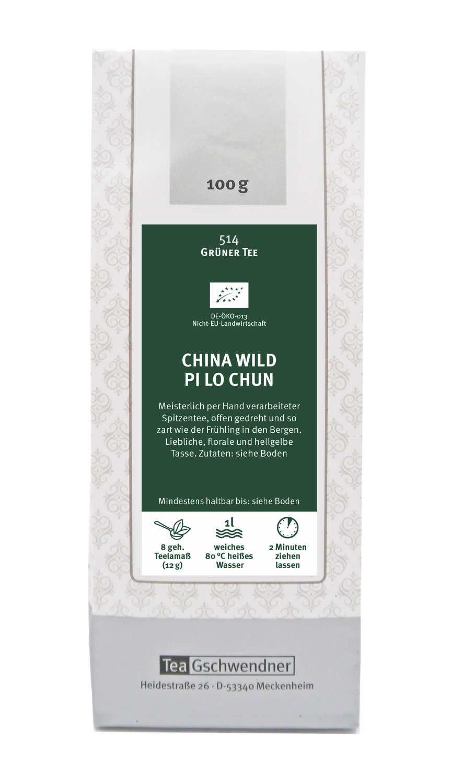 China Wild Pi Lo Chun Bio