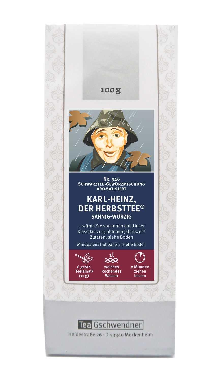 Karl-Heinz, der Herbsttee®