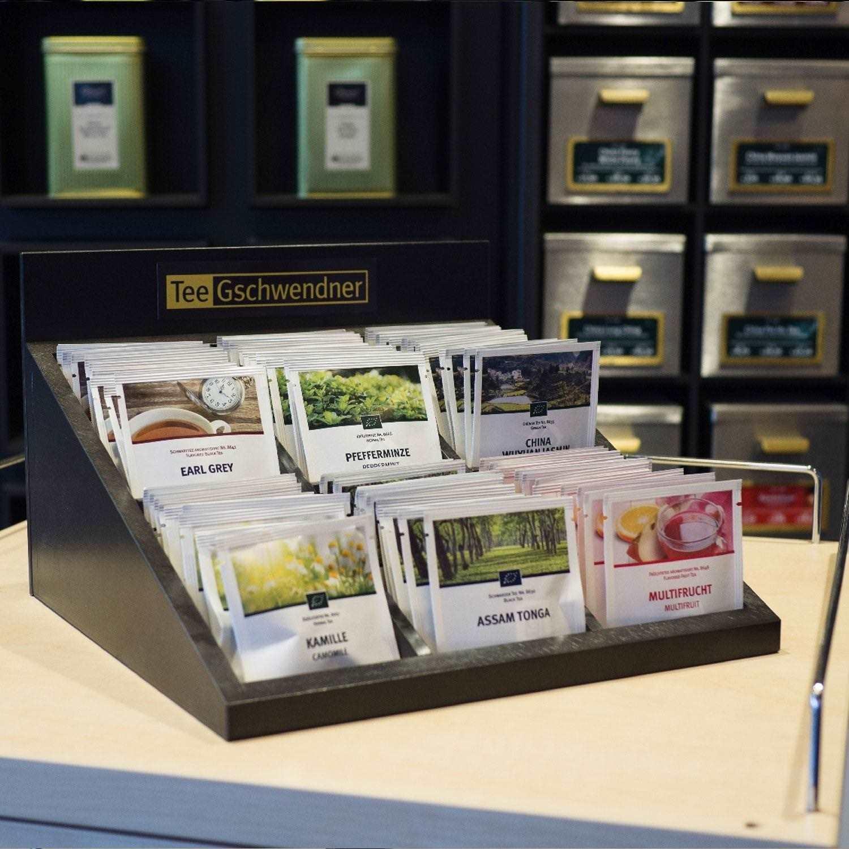 Tee-Box für MasterBag Pyramide schwarz offen