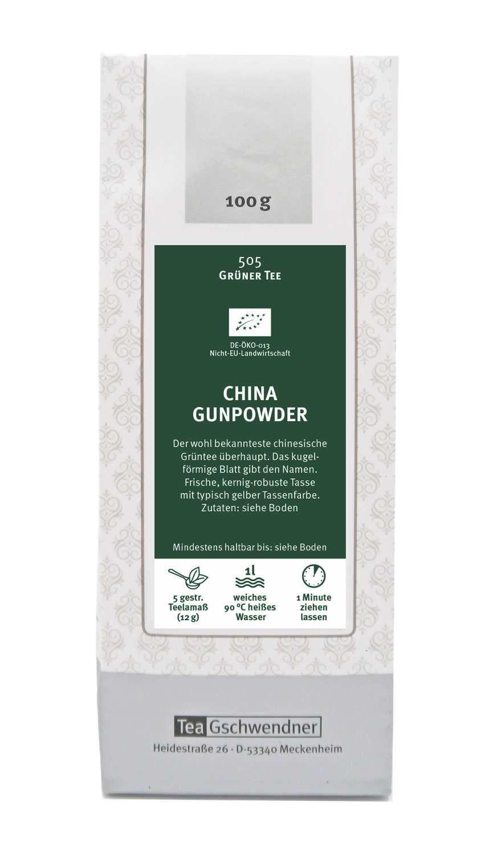 China Gunpowder Bio