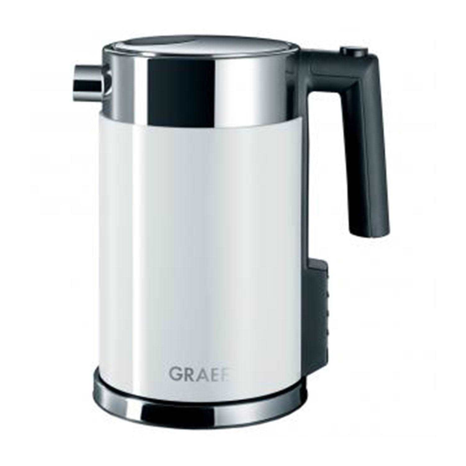 Graef Stainless Steel Electric Kettle 1.5l white