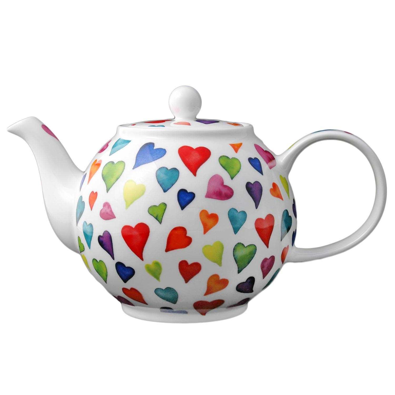 Dunoon Teekanne Warm Hearts 1,2l