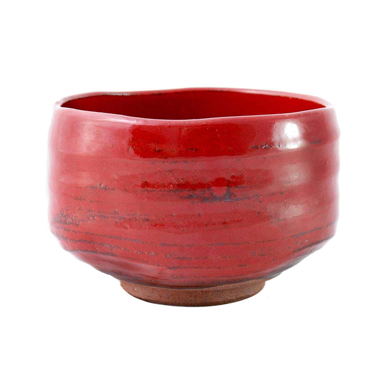 Matcha Teeschale rot