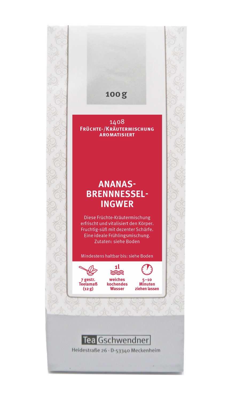 Ananas-Brennessel-Ingwer