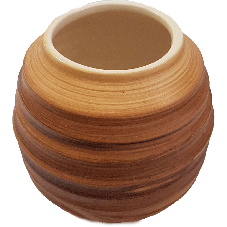 Mate Trinkgefäß Keramik (hell)