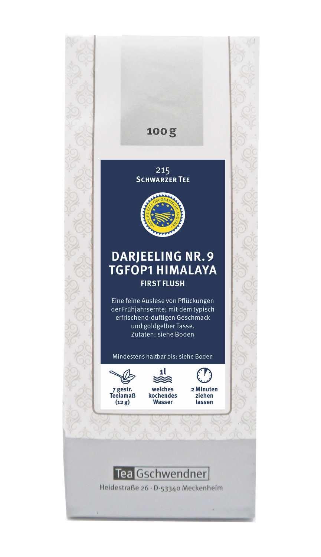Darjeeling Nr. 9 TGFOP 1 Himalaya First Flush